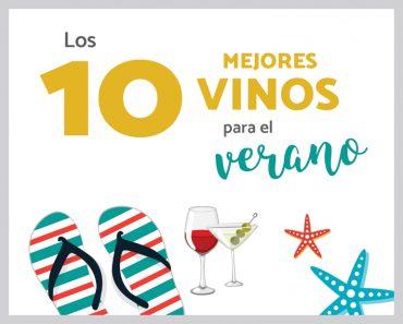 Los mejores 10 vinos para el verano