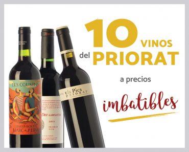 10 vinos Priorat