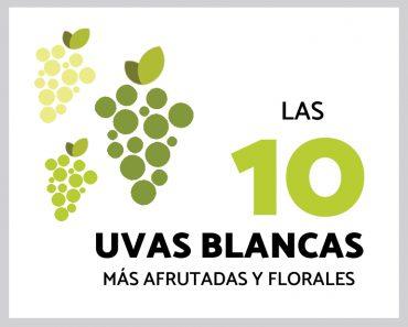Las 10 uvas blancas más afrutadas y florales
