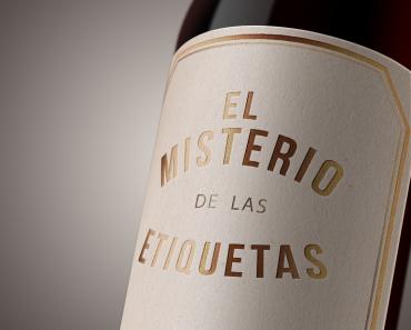 la etiqueta de vino