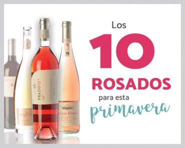 10 vinos rosados