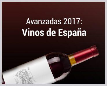 Avanzadas 2017 vinos españoles