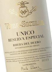 Vega Sicilia Único Reserva Especial