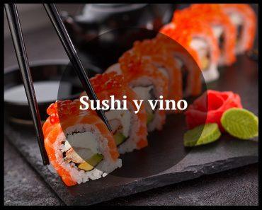 maridaje sushi vino