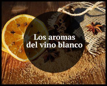 Los aromas del vino blanco