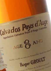 Roger Groult Vieux Calvados 8 Años destilados y vinos generosos