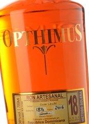 Ron Opthimus 18 años destilados y vinos generosos