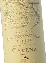 Carnes y vinos Catena La Consulta Malbec