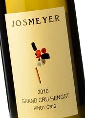 Carnes y vinos Josmeyer Grand Cru Hengst Pinot Gris