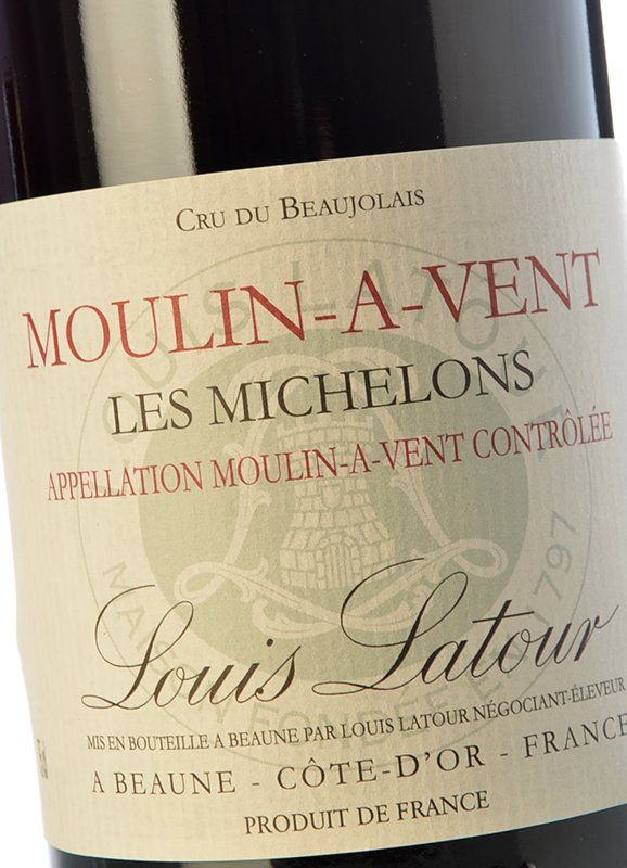 Louis Latour Moulin-à-Vent Les Michelons Beaujolais