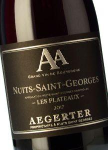 Aegerter Nuits-Saint-Georges Les Plateaux