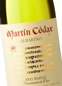 Vino y ensalada, Martin Códax Albariño